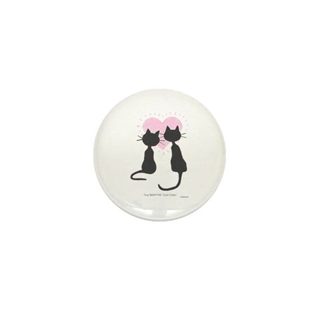 Beatniks' Cats Mini Button (10 pack)