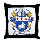 Shand Coat of Arms Throw Pillow