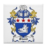 Shand Coat of Arms Tile Coaster