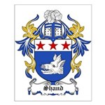 Shand Coat of Arms Small Poster