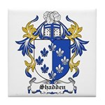Shadden Coat of Arms Tile Coaster