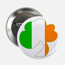 "Irish Flag Shamrock 2.25"" Buttons (10 pack)"