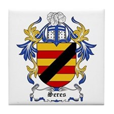 Seres Coat of Arms Tile Coaster