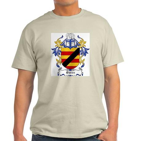 Seres Coat of Arms Ash Grey T-Shirt