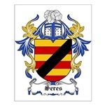 Seres Coat of Arms Small Poster