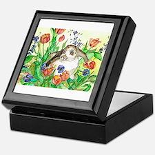 Cute Lop eared rabbit Keepsake Box
