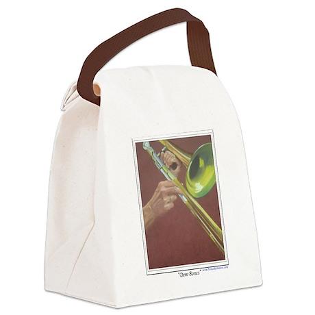 Dem Bones shirt.tif Canvas Lunch Bag