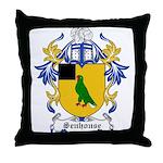 Senhouse Coat of Arms Throw Pillow