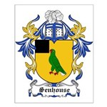 Senhouse Coat of Arms Small Poster