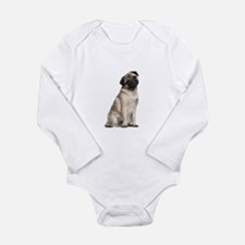 Pug Long Sleeve Infant Bodysuit