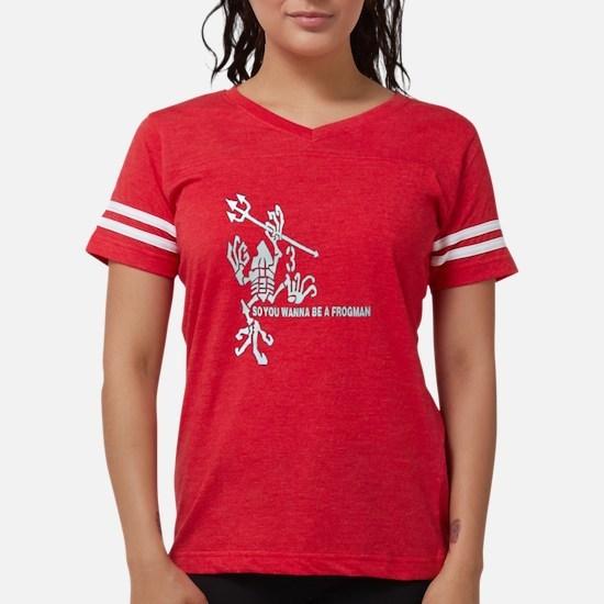 Frogman Trans Womens Football Shirt