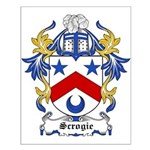 Scrogie Coat of Arms Small Poster