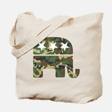 Republican Camo Elephant.png Tote Bag