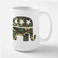 Republican Camo Elephant.png Mug