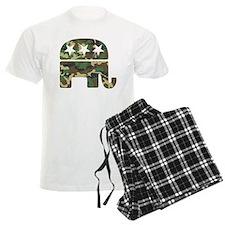 Republican Camo Elephant.png pajamas