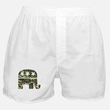 Republican Camo Elephant.png Boxer Shorts