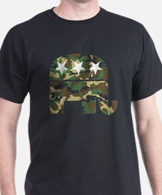 Republican Camo Elephant.png T-Shirt