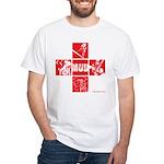 Character Tile Men's T-Shirt (white)