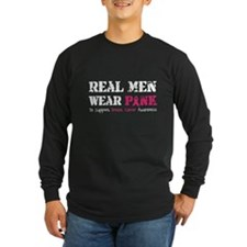 Real Men Wear Pink T