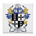 Schives Coat of Arms Tile Coaster