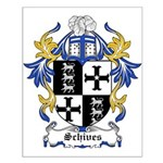 Schives Coat of Arms Small Poster