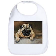 Pug Dog Bib