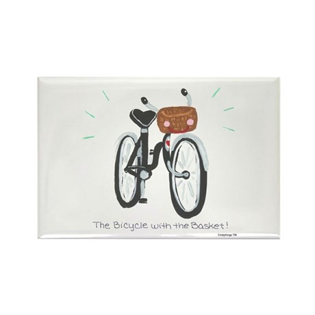 Bicycle Rectangle Magnet (10 pack)