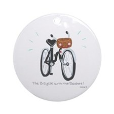 Bicycle Ornament (Round)