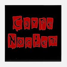 Carpe Noctum Tile Coaster