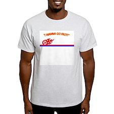 """Ricky Bobby """"I wanna go fast"""" Shirt"""