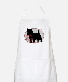 Cairn Silver Oval BBQ Apron