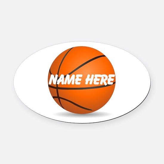 Basketball Car Magnets CafePress - Custom basketball car magnets