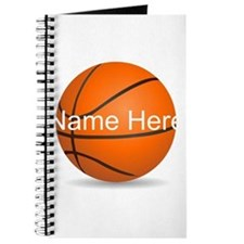 Customizable Basketball Ball Journal