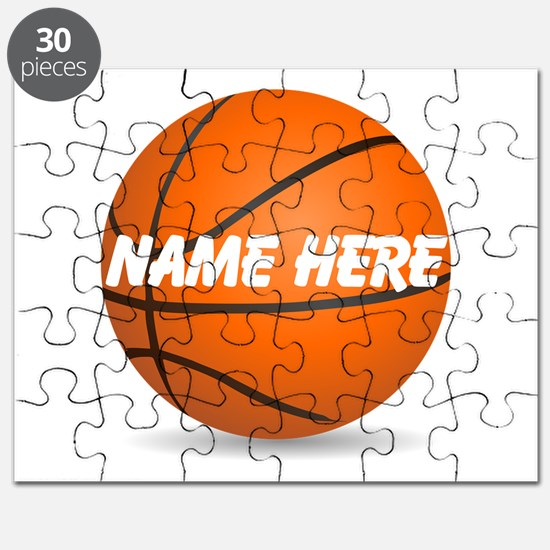 Customizable Basketball Ball Puzzle