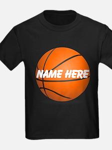 Customizable Basketball Ball T