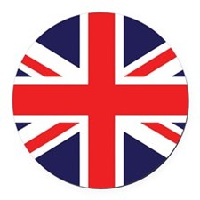 Union Jack Round Car Magnet