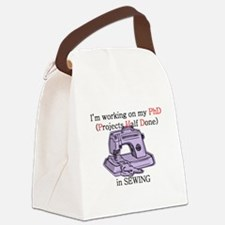PhDinSewing.png Canvas Lunch Bag