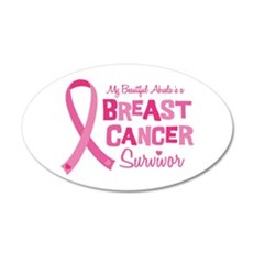 Breast Cancer Abuela Wall Decal