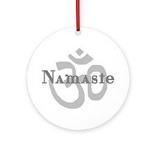 Namaste 4 Ornament (Round)