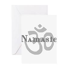 Namaste 4 Greeting Card