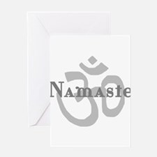 Namaste 4 Greeting Card