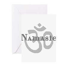 Namaste 4 Greeting Cards (Pk of 10)