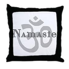 Namaste 4 Throw Pillow