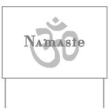 Namaste 4 Yard Sign