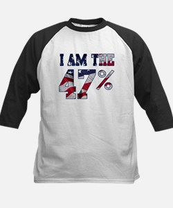 I am the 47% Romney American Flag.png Tee