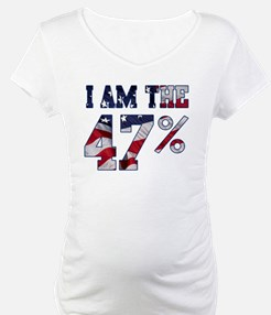 I am the 47% Romney American Flag.png Shirt