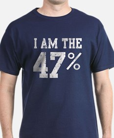I am the 47% Romney Speech t shirt.png T-Shirt