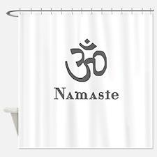 Namaste 3 Shower Curtain