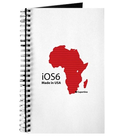 iOS6 Made in USA Journal