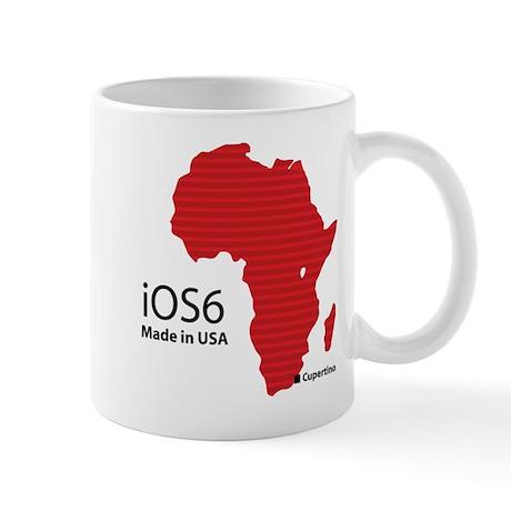 iOS6 Made in USA Mug